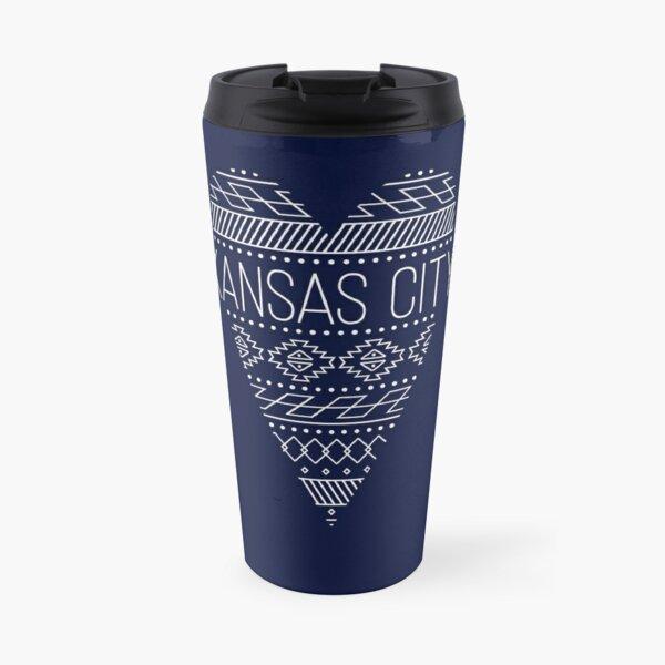 I love Kansas City Heart Design Travel Mug