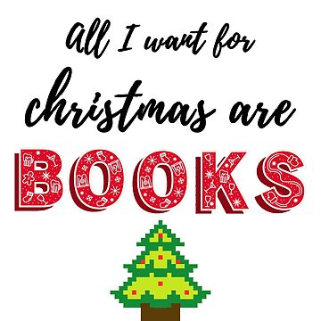 All I want for christmas are books by alexbookpages
