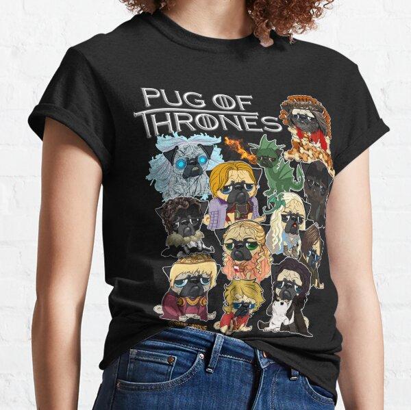 Pug of Thrones Classic T-Shirt