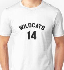 High School Musical Wildcats 14 Merchandise T-Shirt