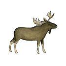 Big Moose by papercanoe