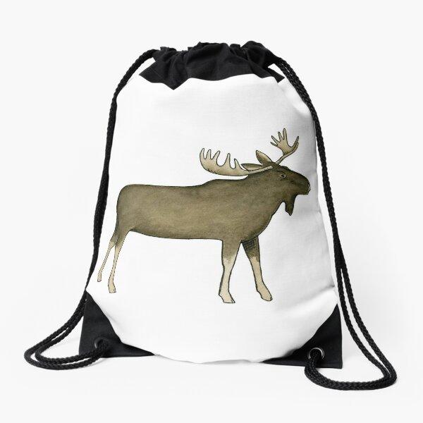 Big Moose Drawstring Bag