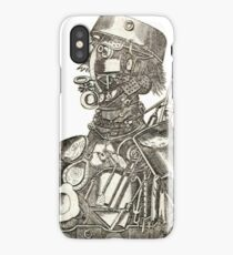 Vintage Cybernetic Cyborg from Science Fiction iPhone Case/Skin