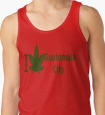0025 I Love Guatemala City  Tank Top