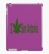 0016 I Love San Antonio  iPad Case/Skin