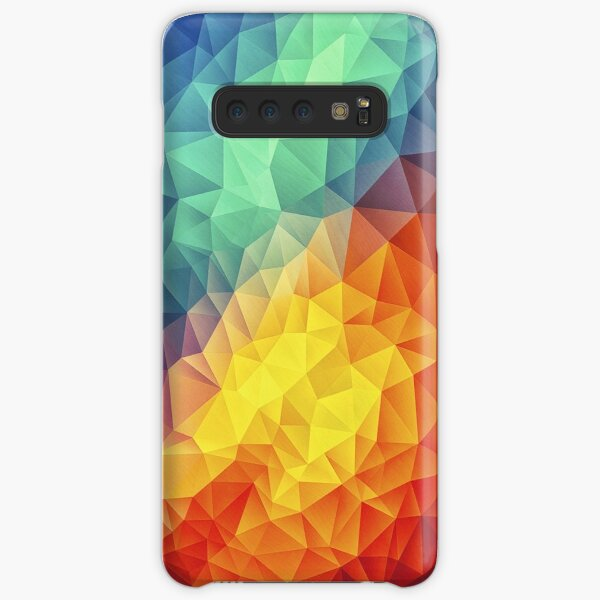 Abstract Multi Color Cubizm Painting Samsung Galaxy Snap Case