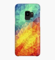 Abstract Multi Color Cubizm Painting Case/Skin for Samsung Galaxy