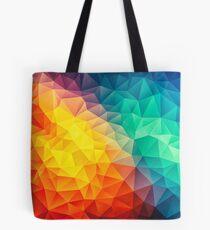 Bolsa de tela Pintura abstracta multicolor de cubizm