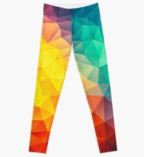 Peinture Multi Cubizm Abstraite Leggings