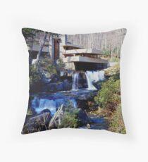 Frank Lloyd Wright Falling Water #1 Throw Pillow