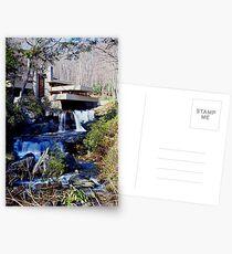 Frank Lloyd Wright Falling Water #1 Postcards