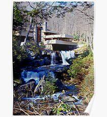 Frank Lloyd Wright Fallendes Wasser # 1 Poster