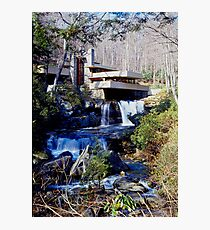Frank Lloyd Wright Falling Water #1 Photographic Print