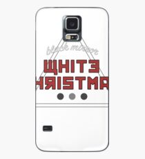white christmas Case/Skin for Samsung Galaxy