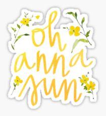Anna Sun Sticker