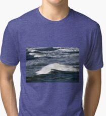 Ocean Waves Tri-blend T-Shirt