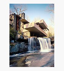 Frank Lloyd Wright Falling Water #2 Photographic Print