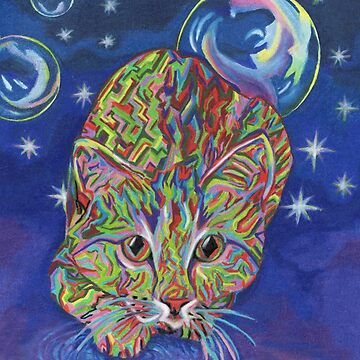 Electric Cat by dreamingcat