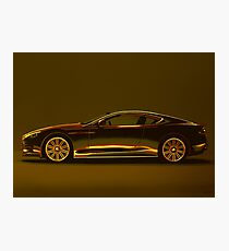 Aston Martin DBS V12 Mixed Media Photographic Print