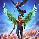 Winged Warriors by NDJones