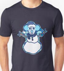 Mentha Snowman   T-Shirt
