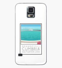 Lido Poster Grange over Sands Case/Skin for Samsung Galaxy