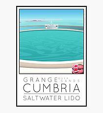 Lido Poster Grange over Sands Photographic Print