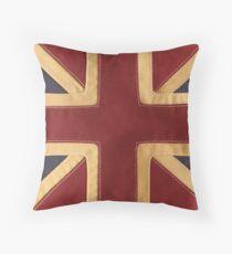 Stitched Union Jack Throw Pillow