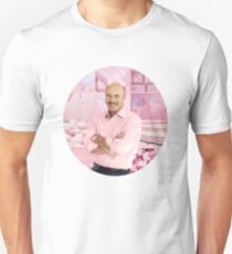 Dr. Phil  -  PINK COLLAGE   (Circle Edition) Unisex T-Shirt