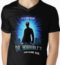 Dr. Horribles sing-along blog  Men's V-Neck T-Shirt
