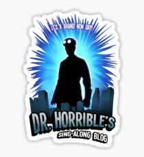 Dr. Horribles sing-along blog  Sticker