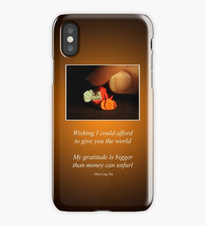 A Little Thanksgiving iPhone Case/Skin