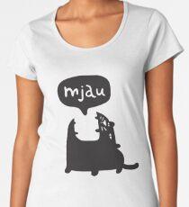 Mjau Women's Premium T-Shirt