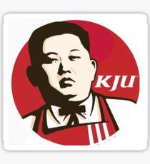 Kim Jong Un KFC Sticker