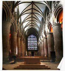 Gloucester Cathedral Poster