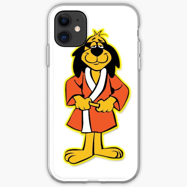 Hong Kong Phooey Standing White iPhone Soft Case