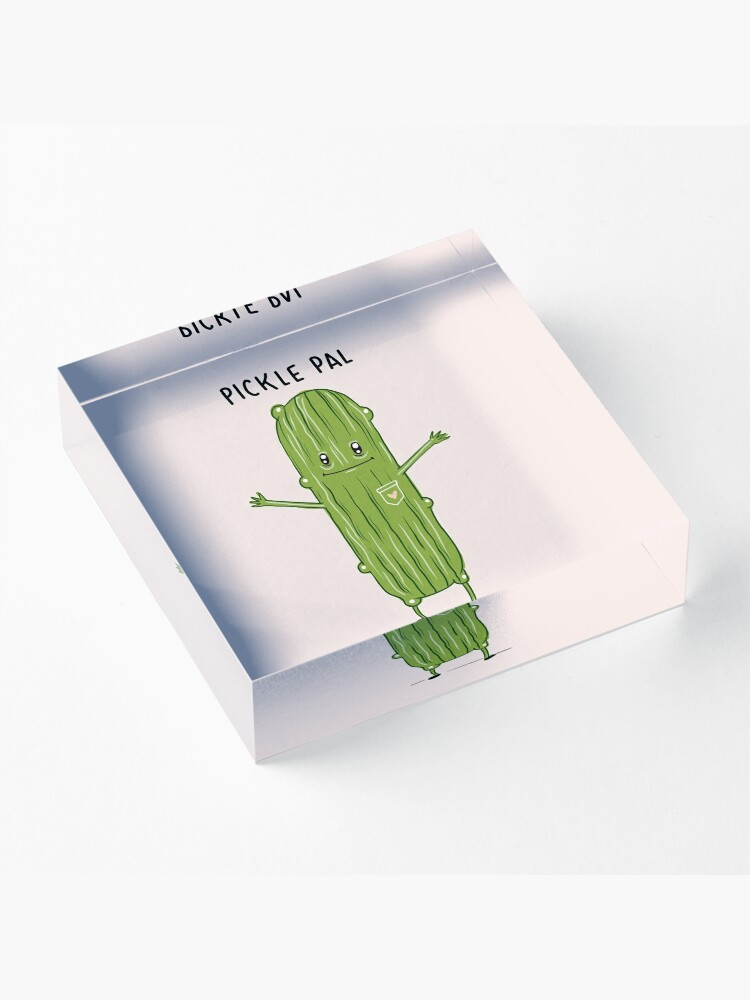 Alternate view of Your Very Own Pickle Pal! Acrylic Block