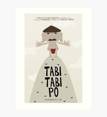 Tabi Tabi Po  Art Print