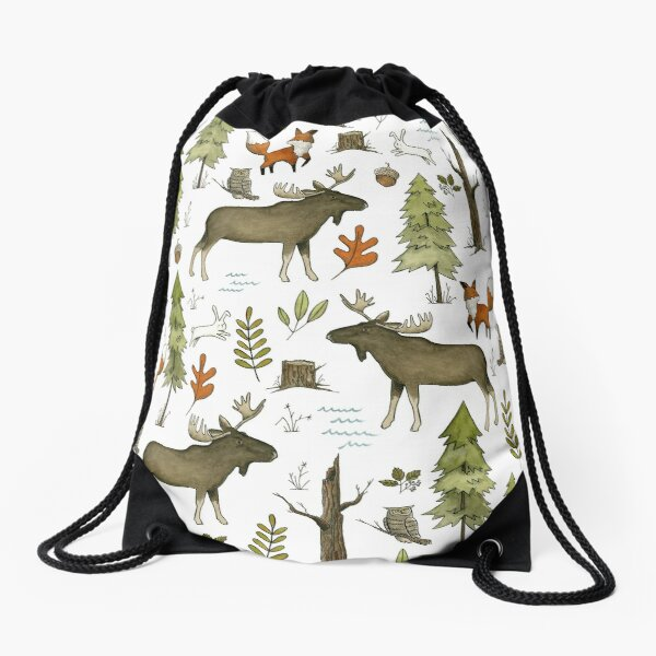 Forest Walks Drawstring Bag
