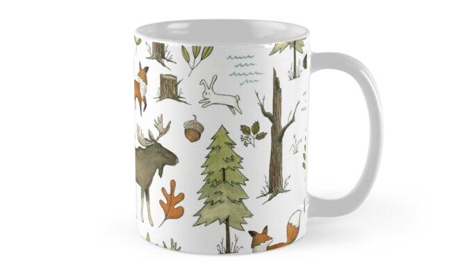 Forest Walks by papercanoe