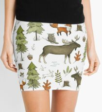 Forest Walks Mini Skirt