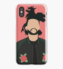 The Weeknd Minimal Art Poster iPhone Case/Skin