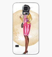 Boss Lady (Goldkreis) Hülle & Skin für Samsung Galaxy