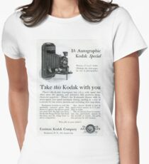 1920s Kodak Autographic Women's Fitted T-Shirt