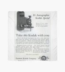 1920s Kodak Autographic Scarf