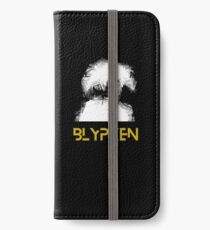 BLYPKEN - Gold iPhone Wallet/Case/Skin