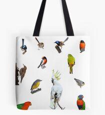 Australian Woodland Birds Tote Bag