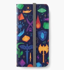 DnD Forever - Color iPhone Wallet/Case/Skin