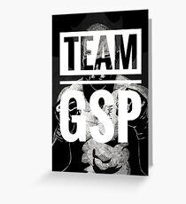 Team GSP (big print)  Greeting Card