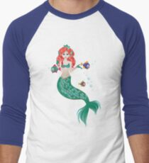 Red Haired Mermaid T-Shirt